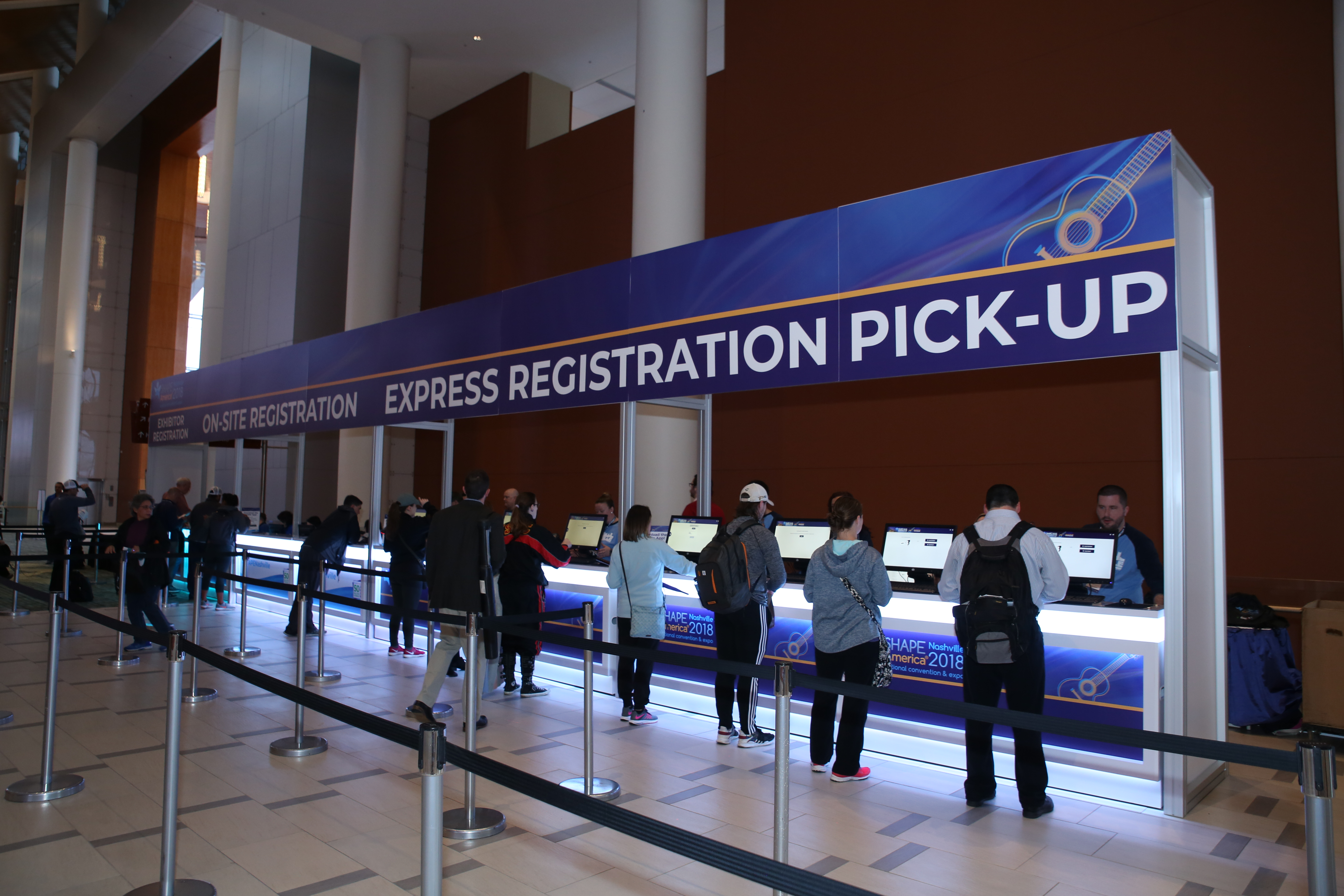 2018 Registration Counters